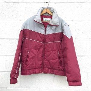 Vintage Color Block Ski Jacket